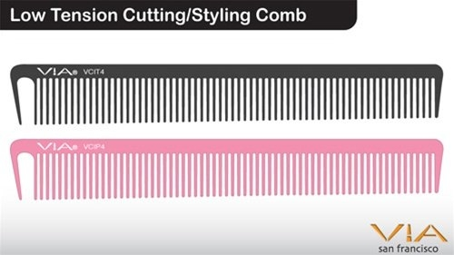 Via Low Tension Cutting/Styling Comb