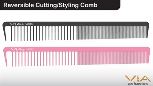 Via Reversible Cutting Styling Comb