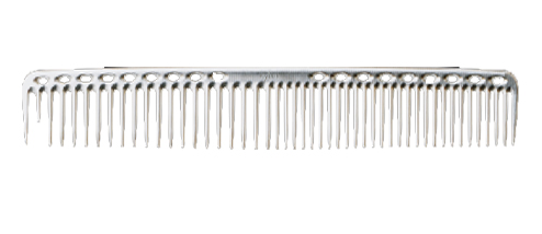 YS Park 333 Metal Comb - Silver