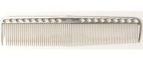 YS Park 335 Metal Comb - Silver