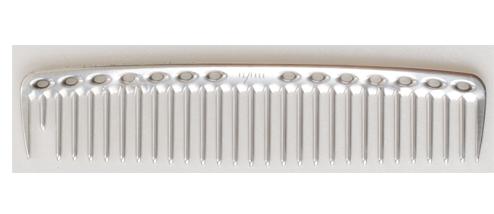 YS Park 452 Metal Comb - Silver