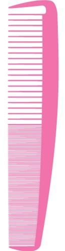 Via Pink Carbon Silicone Graphite Comb - Lg Control