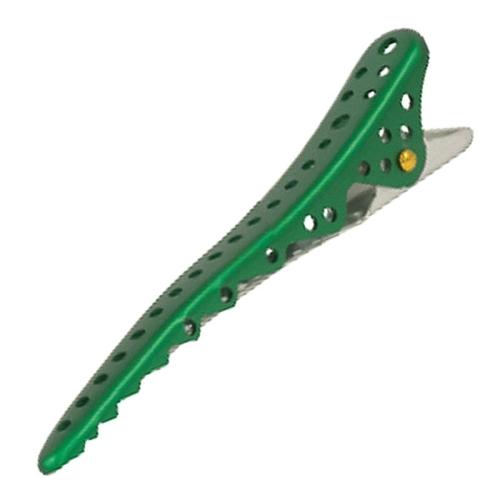 YS Park Shark Hair Clip - Green