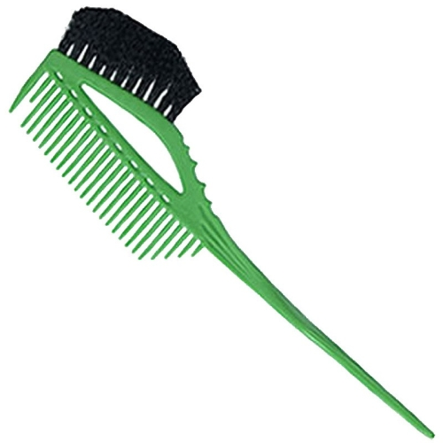 YS Park 640 Tinting Comb/Brush - Green