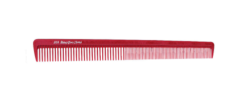 Beuy Pro 201 Barbering Comb - Red