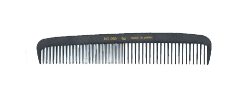 BW Boyd 269 Carbon Cutting Comb